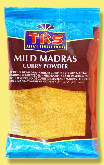 Mildes Madras Curry